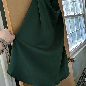 Hunter Green Vintage Style Skirt
